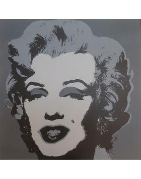 Marilyn Monroe-Gray 11.24 - silkscreen by Andy Warhol
