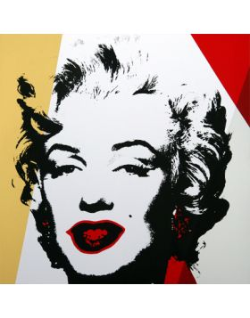 11.37 Golden Marilyn - Artwork by Andy Warhol