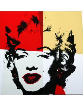 11.38 Golden Marilyn - Artwork by Andy Warhol