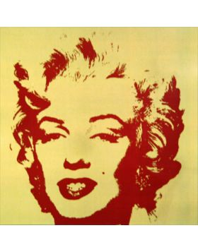 11.40 Golden Marilyn - opera di Andy Warhol