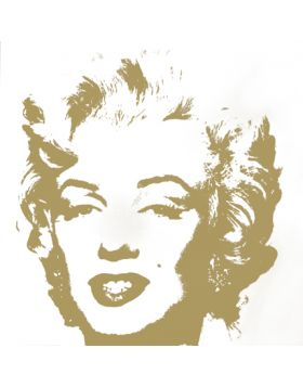 11.41 Golden Marilyn - opera di Andy Warhol