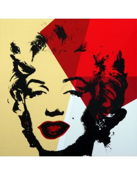 11.42 Golden Marilyn - artwork by Andy Warhol