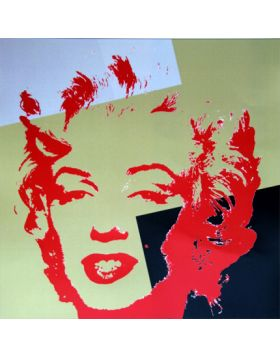 11.44 Golden Marilyn - artwork by Andy Warhol