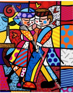 Cheek to cheeck - Romero Britto
