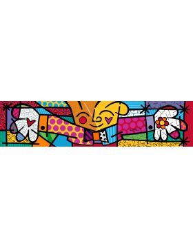 The hug - Romero Britto