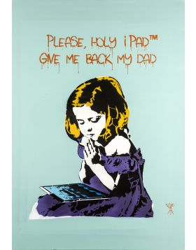 Please Holy iPad, give me back my Dad - Mr. Savethewall