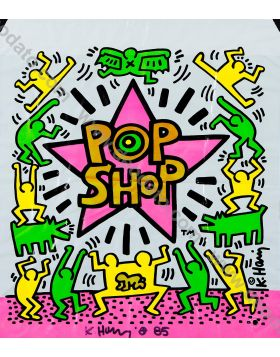 Pop Shop 2 - Keith Haring