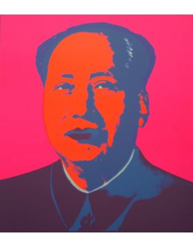 MAO PINK - Print by Andy Warhol