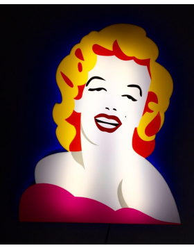 Marilyn Monroe - light sculpture