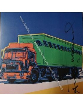 Truck - artwork by Andy Warhol