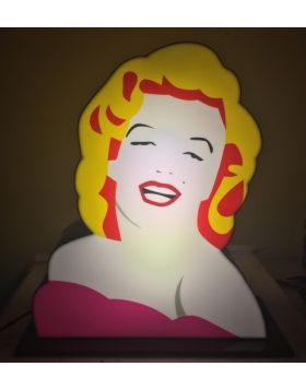 Marilyn - Lodola light sculpture