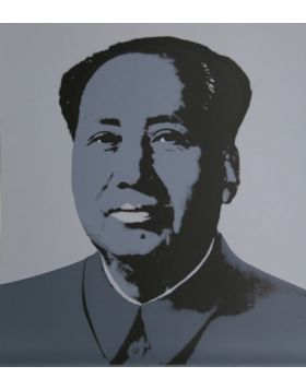 MAO GREY - Print by Andy Warhol