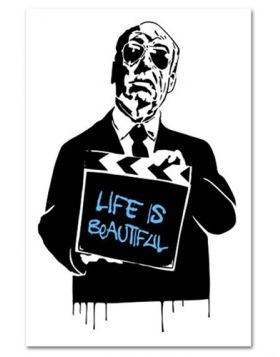 Alfred Hitchcock (Life Is Beautiful) (Blue)
