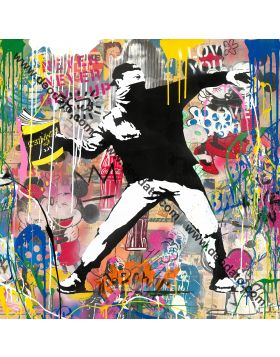Banksy Thrower - Mr Brainwash
