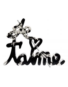 Je t'aime - Black Splash Edition, Mr Brainwash