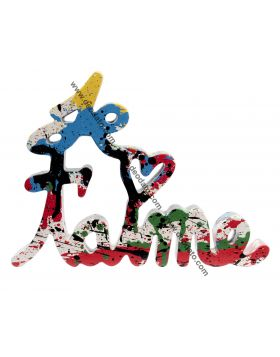 Je t'aime - Multicolor Splash Edition, Mr Brainwash
