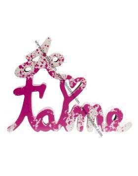 Je t'aime - Pink Splash Edition, mr Brainwash