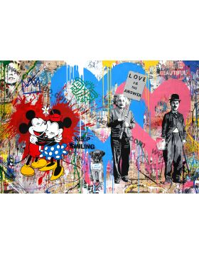 Juxtapose - Mr Brainwash
