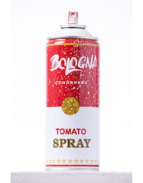 Mr Brainwash - Spray Can - Bologna White