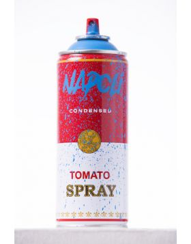 Mr Brainwash - Spray can - Napoli Blu