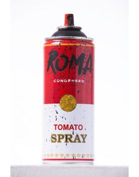 Mr Brainwash - Spray Can - Roma Black