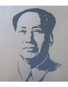 MAO SILVER - Print by Andy Warhol