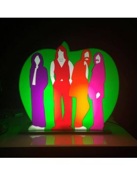 The Apple - Beatles - light sculpture