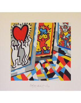 Tribute to Haring