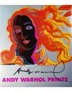 Botticelli Venus - cover signed in original by Andy Warhol