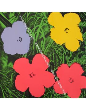 Flowers 11.73 - not by me - Warhol