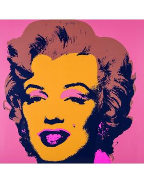 Andy Warhol- Marilyn Monroe - rosa- This is not by me