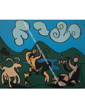 Bacchanal (Fauns and Goats)