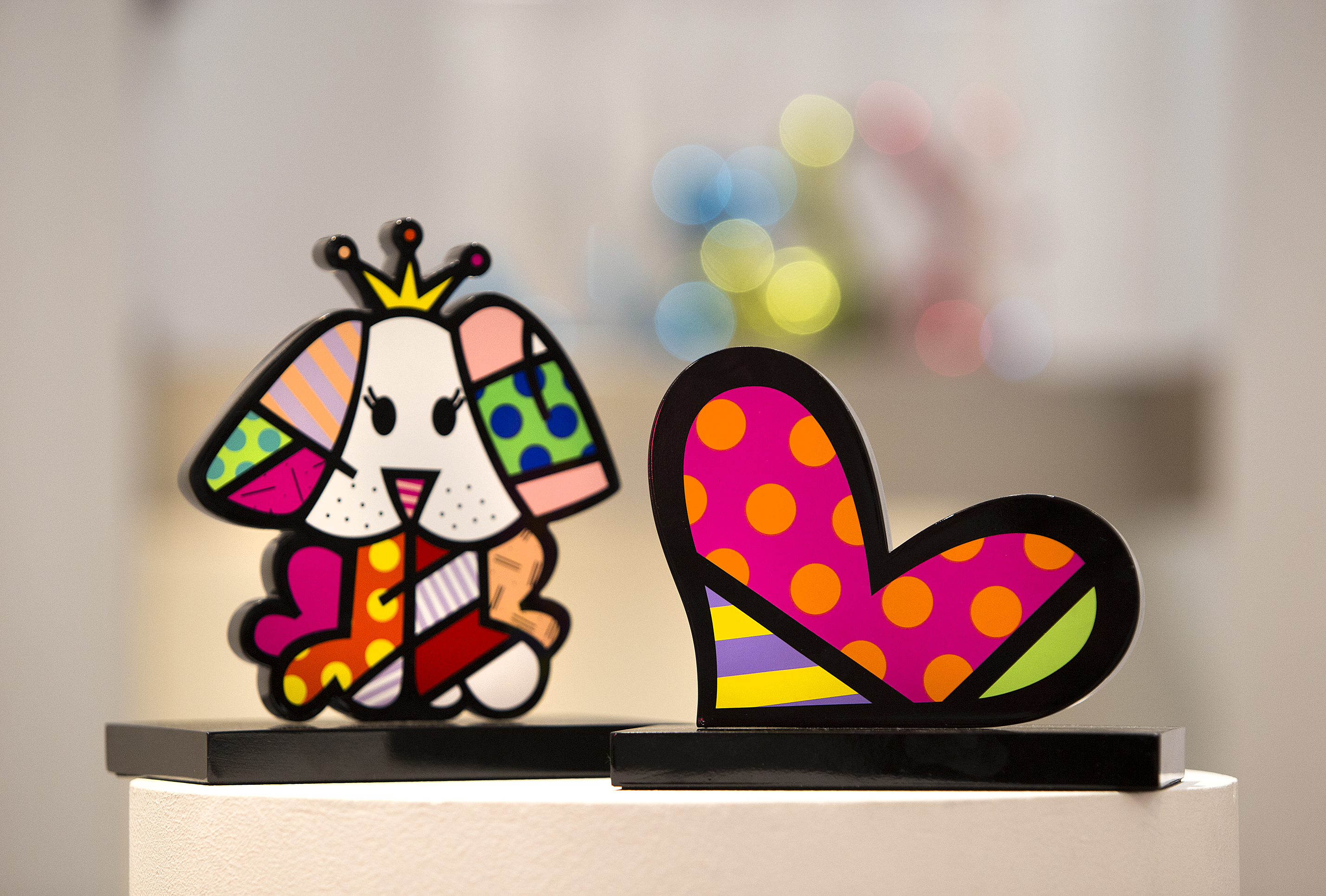 Romero Britto: New Sculptures in Limited Edition