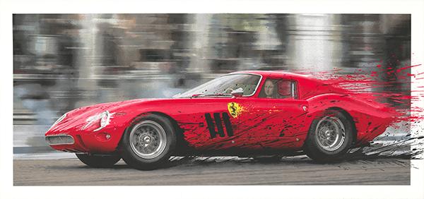 Ferrari limited edition by Mr Brainwash