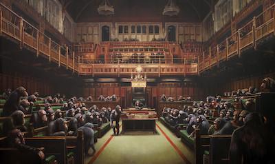 Devolved Parliament - Banksy