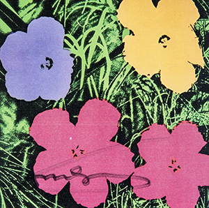 Flowers by Andy Warhol - artwork for sale on Deodato.com