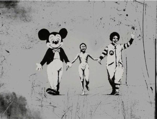 Napalm Girl - Banksy