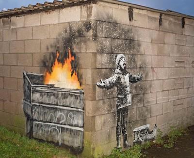 Season's Greeting - Banksy