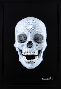For The Love of God - opera di Damien Hirst in vendita presso GrandArt Milano nello Stand 36 di Deodato Arte