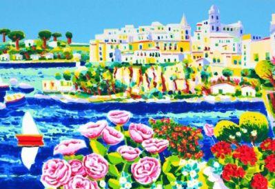 Athos Faccincani: Landscape Paintings on Sale. Find out Quotations