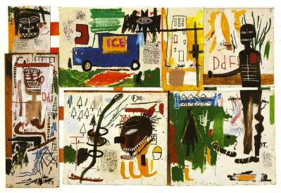 Jean Michel Basquiat: Art for Sale. Prices Jean Michel Basquiat Artwork