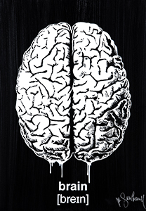 Mr Savethewall Brain Artwork Street Art