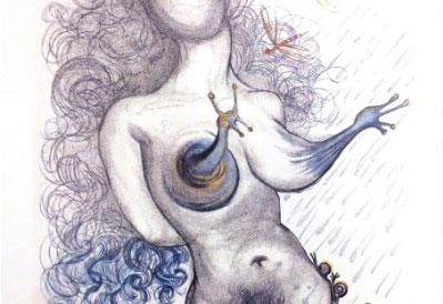 Salvador Dalì original graphics and works on sale